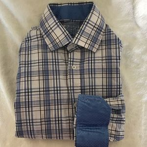 English Laundry Button Up Top Large